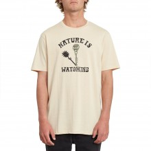CAMISETA VOLCOM METER HTH WHITE FLASH