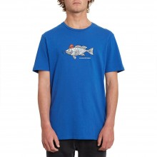 CAMISETA VOLCOM TROUT THERE DEEP WATER