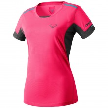 CAMISETA MUJER DYNAFIT VERTICAL SS ROSA