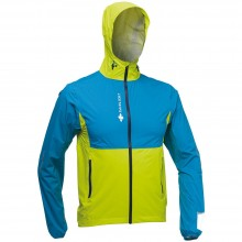 CHAQUETA RAIDLIGHT RESPONSIV MP LIME GREEN BLUE