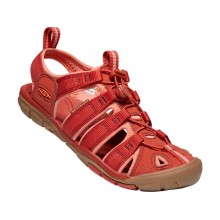SANDALIAS MUJER KEEN CLEARWATER CNX ROJO CORAL