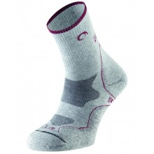 CALCETINES MUJER LURBEL TIERRA ICE GREY/RED