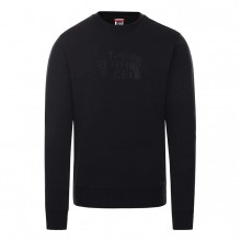 SUDADERA THE NORTH FACE DREW PEAK CREW ALLBLACK
