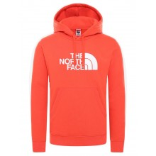 SUDADERA THE NORTH FACE DREW PEAK FLARE/TNF WHITE