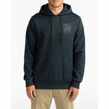 SUDADERA BILLABONG PEAK PO BLACK
