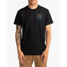 CAMISETA BILLABONG PEAK BLACK