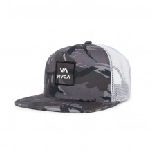 GORRA RVCA VA ALL THE WAY NEGRO CAMO