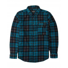 CAMISA BILLABONG FURNACE FLANNEL AZUL