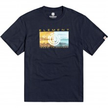 CAMISETA ELEMENT SENTINEL SS ECLIPSE NAVY