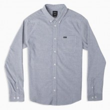 CAMISA RVCA THAT'LL DO STRETCH BLUE