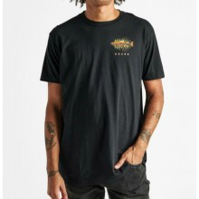 CAMISETA ROARK BAIT & SWITCH STAPLE BLACK
