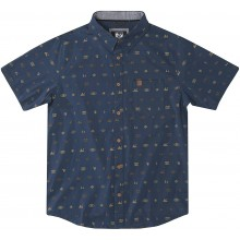 CAMISA HIPPYTREE SETTINGS WOVEN NAVY