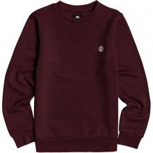 SUDADERA ELEMENT CORNELL CLASSIC CR GRANATE