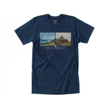 CAMISETA HIPPYTREE ARCTIC NAVY