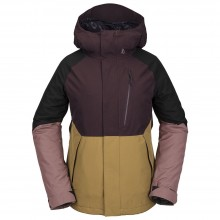 CHAQUETA NIEVE W VOLCOM ARIS INSULATED GORE-TEX BLACK/RED