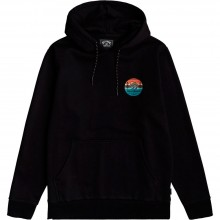 SUDADERA BILLABONG TWIN PINES BLACK