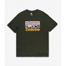 CAMISETA ELEMENT WANDER GREEN