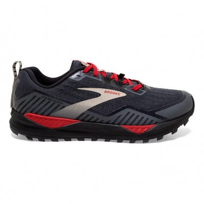 ZAPATILLAS BROOKS CASCADIA 15 GTX BLACK/EBONY/RED
