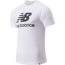 CAMISETA NEW BALANCE ESSENTIALS ST LOGO BLANCO