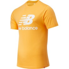 CAMISETA NEW BALANCE ESSENTIALS ST LOGO NARANJA