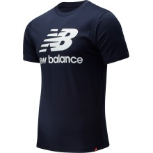 CAMISETA NEW BALANCE ESSENTIALS ST LOGO NAVY