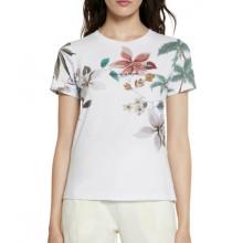 Camiseta Desigual Crossed Open Back Blanco