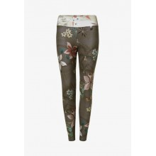 Legging Mujer Desigual Camoflower Light Verde
