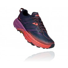 Zapatillas Mujer Hoka One One Speedgoat 4 Space/Coral