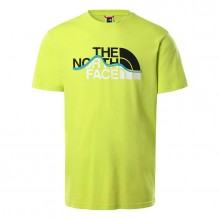 Camiseta The North Face Mount Line S21