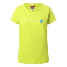 Camiseta Mujer The North Face NSE Sulphur Green