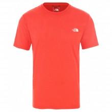 Camiseta The North Face Reaxion AMP Crew Red