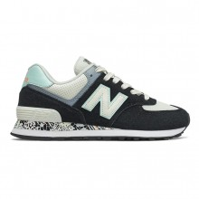 Zapatillas W New Balance WL574CA2 Negro