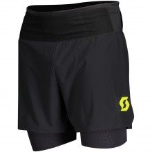 Pantalon Scott Hybrid RC Run Negro/Amarillo