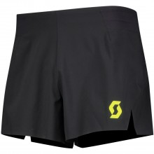 Pantalon Scott Split RC Run Negro/Amarillo