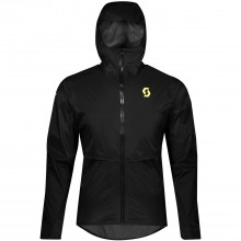 Chaqueta Scott RC Run WP Negro/Amarillo
