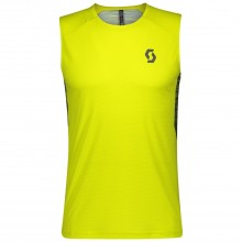 Camiseta Scott Trail Run Sulphur Yellow
