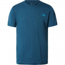 Camiseta The North Face Reaxion AMP Crew Moroccan Blue