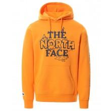 Sudadera The North Face Himalayan Bottle Exuberance Orange