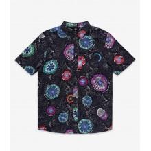 Camisa Volcom Coral Morph Black