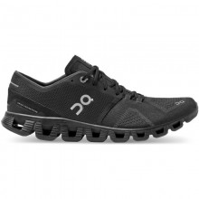 Zapatillas On Running Cloud X Black Asphalt