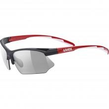 Gafas de Sol Uvex Sportstyle 802 Vario Black Red