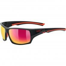 Gafas de Sol Uvex Sportstyle 222 Pola Black Red