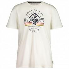 Camiseta Maloja EukalyptusM. Vintage White