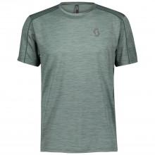 Camiseta Scott Trail Run LT Smoked Green
