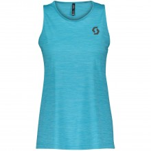 Camiseta Tirantes Scott Mujer Trail Run Breeze Blue