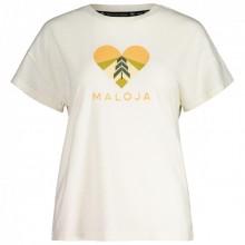 Camiseta W Maloja KlappertopfM. Vintage White