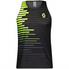 Camiseta Tirantes Scott Ms RC Run Black/Yellow
