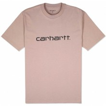 CAMISETA CARHARTT SCRIPT EARTHY PINK