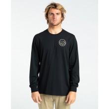 Camiseta Billabong Peak Wave Ls Negro