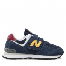 Zapatillas Niños New Balance IV574HW1 Indigo Azul